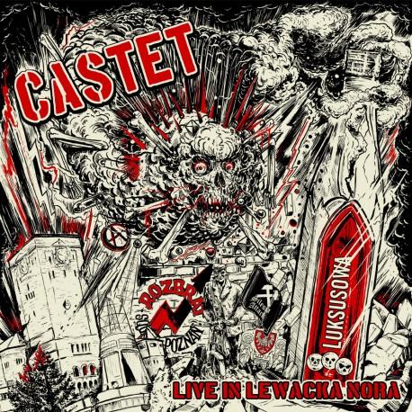 "CASTET - ""Live In Lewacka Nora"" LP"