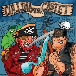 "CASTET / COLLINA split 7""EP"